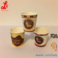 Hot Sale Insulated Ripple Wall PLA Paper Cup with PC Lid