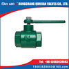 gray cast iron plumbing ball valve (great)