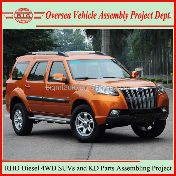 Not Used Toyota Prado SUV but China New Right/Left Hand Drive SUV Cars