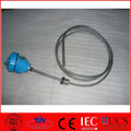 MgO insulated thermocouple,temperature sensor k type,head mount thermocouple