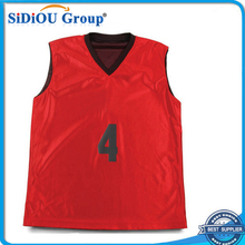 red sample design cheap youth basketball uniforms