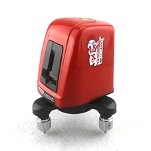 A8826D 360 Degree Self-leveling Mini Cross Red Laser <strong>Levels</strong> Meter 2 line 1 point 635nm Leveling Instrument