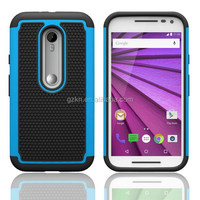 Durable anti-skid TPU defender case for Motorola G3 scratchproof phone cover