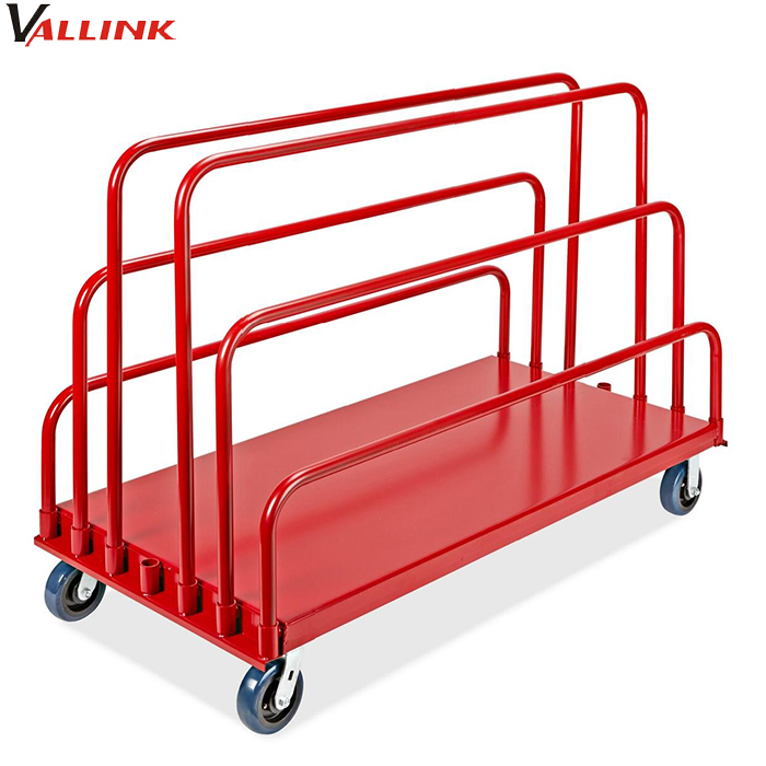 800kg warehouse adjustable panel cart