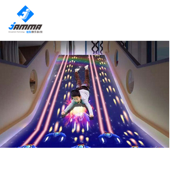 Children's projection game interactive led floor interactive projection game