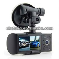 Hot HD 2.0-Megapixel CMOS GPS G-sensor car dvr with recycle video recording heartbeat recorder