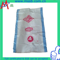plastic coal bags for packing 50kg 100kg