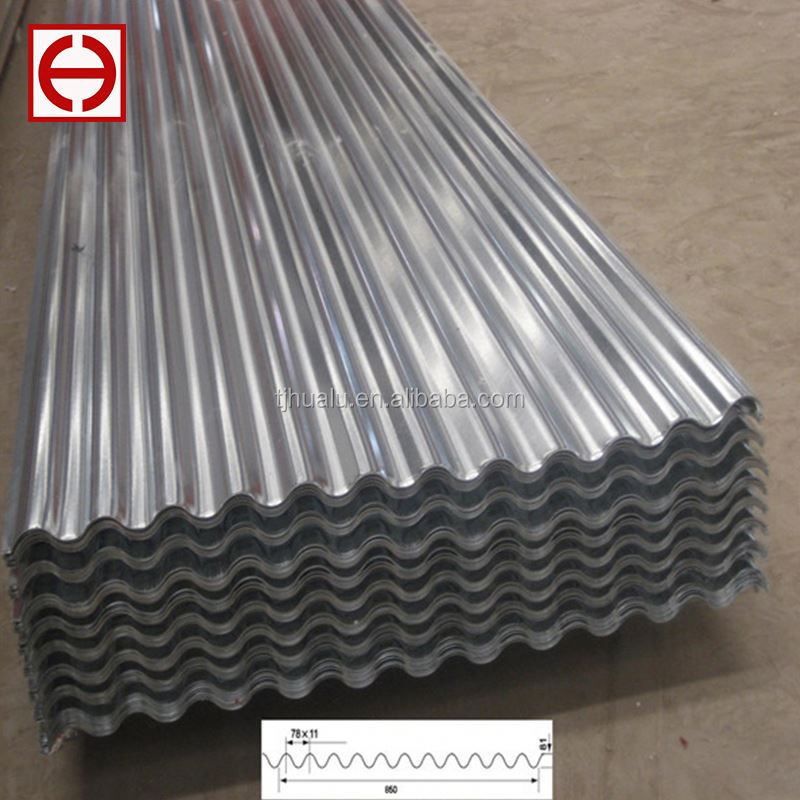 14 16 20 22 24 28 30 gauge galvanized corrugated steel sheets