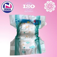 PE backsheet baby diaper in wholesale/OEM disposable baby diaper manufacturers in china