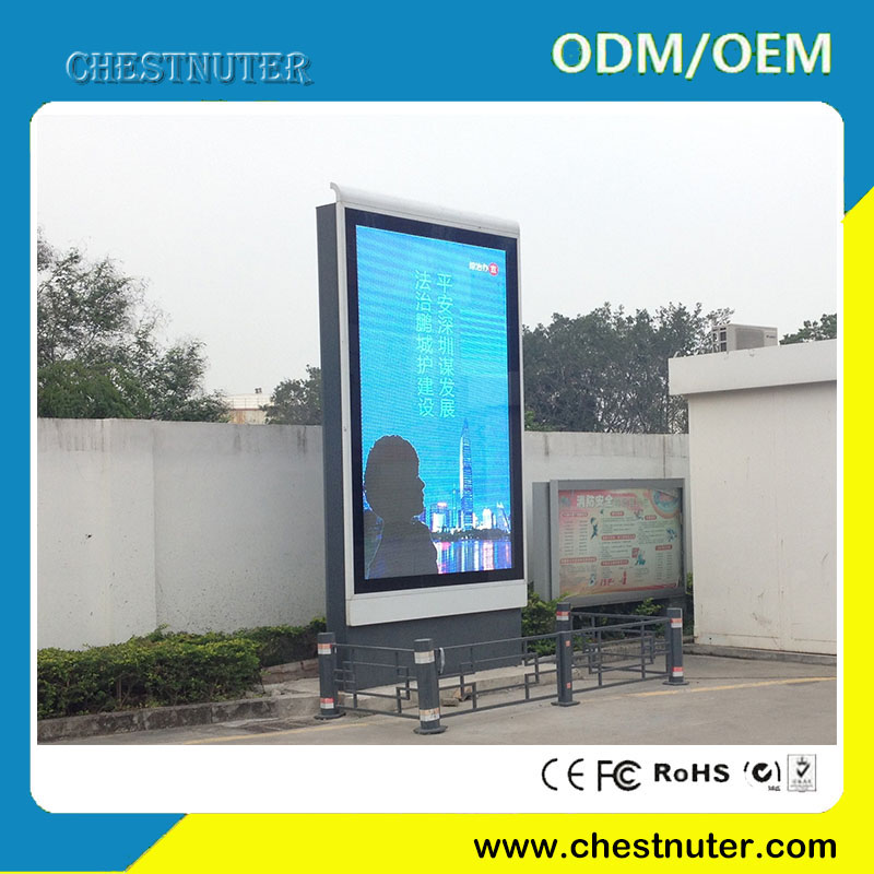 100 inch floor standing led advertising board for outdoor advertising