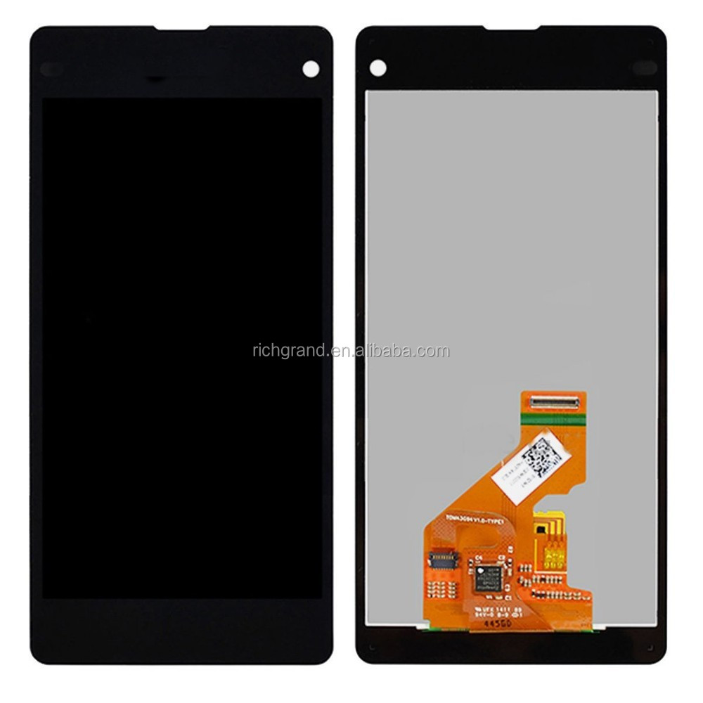 OEM new LCD display touch screen digitizer assembly for Sony Xperia Z1 mini Compact D5503 M51W