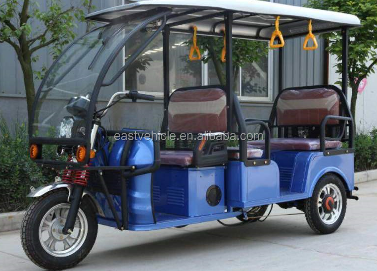 3 three wheel E Rickshaw Driving Type and open Body Type Cheap Tuk Tuk for sale