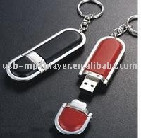 new product multicolor leather material cartoon usb flash drive with great price