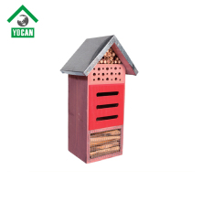 garden decoration mason insect hotel bee house/cage