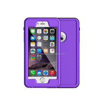 for iPhone 6splus Case,G-WACK Carbon Fiber Aluminum Metal Gorilla Glass Waterproof Shockproof Dirt Proof