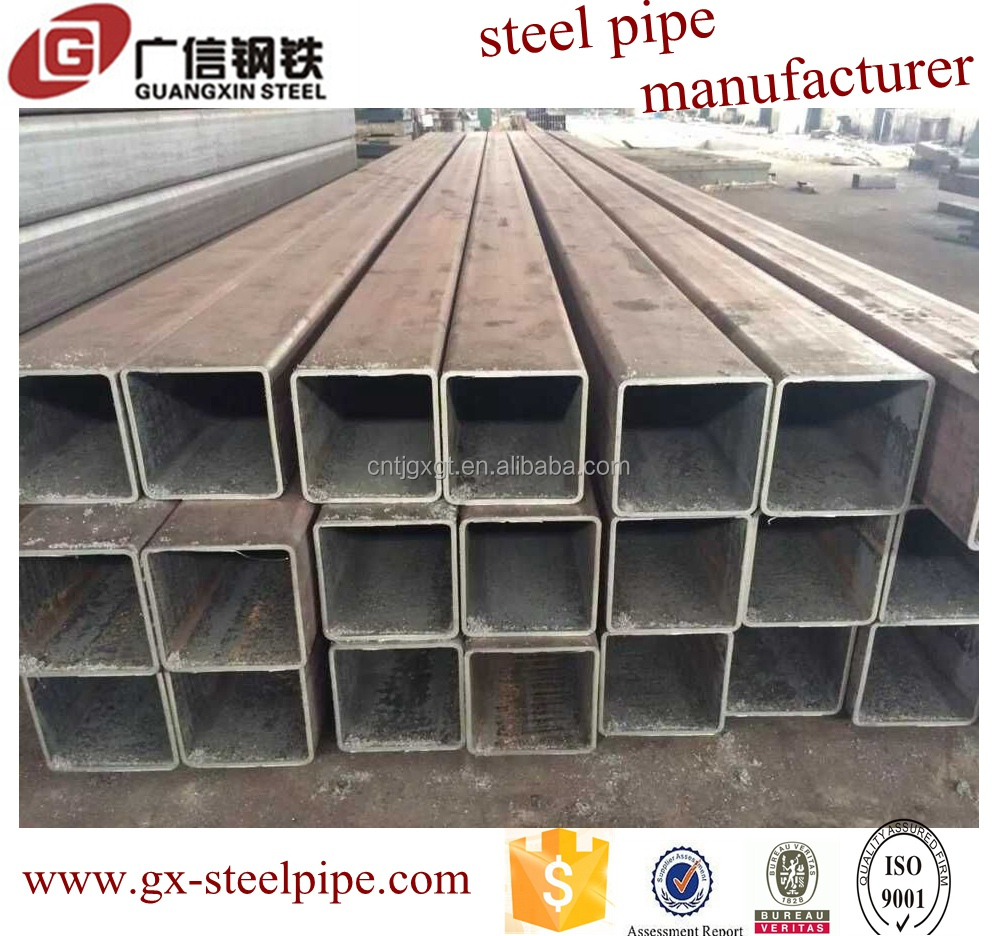 Structure steel profiles square hollow tube