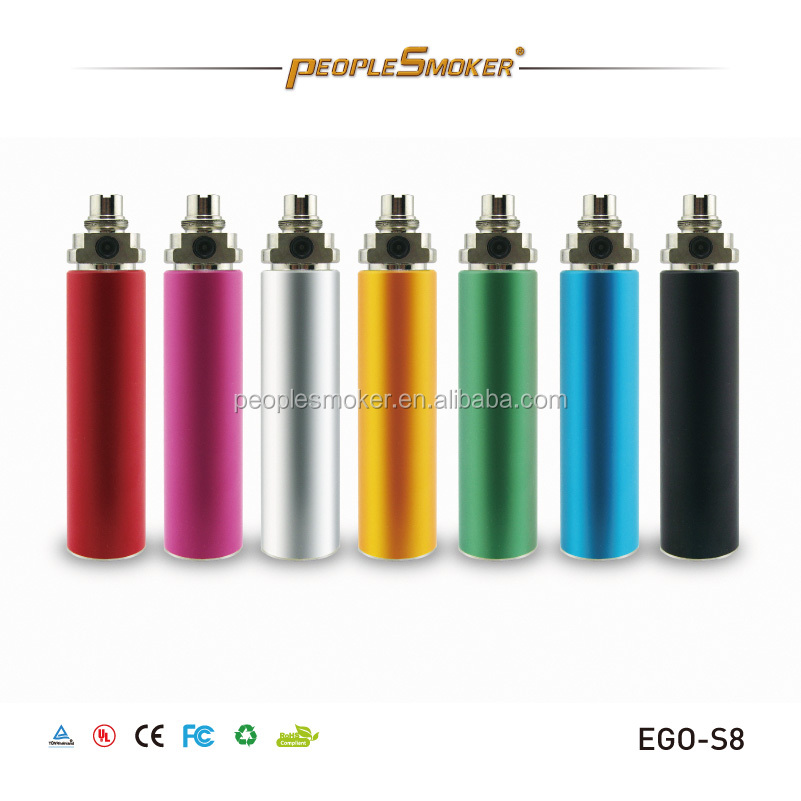 2014 hot selling Electronic Cigarette Kgo 1week battery ego 2200mah
