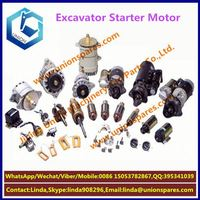 High quality For Misubishi 8DC9 excavator starter motor engine 4D84P.T 8DC9 electric starter motor