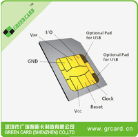color printing sim card 250 contacts number of customized size and printing