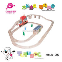 2015 Newest Wood Train Track Toys