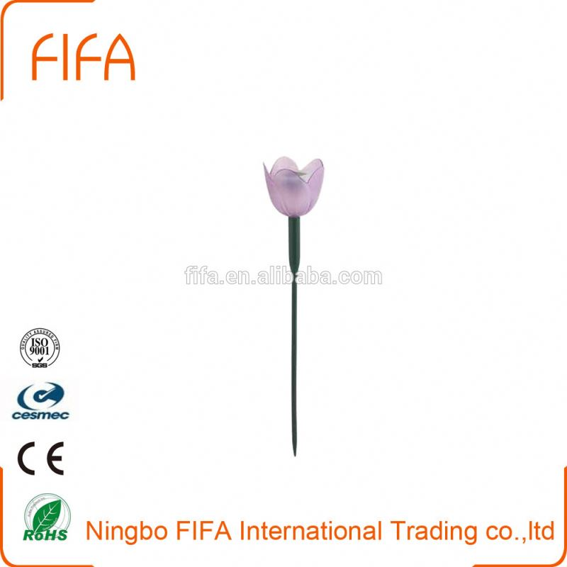 Cheap solar lights,decoration working light With flower