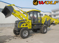 4wd chinese high quality backhoe loader,hot sale mini backhoe loader