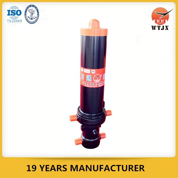 hydraulic cylinder for hook lift trailer, hydraulic system for garbage truck, wantong industrial