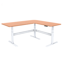 Electric lifting desk ergonomic desk height adjustable electric lift workstation right angle adjustable Electric desk