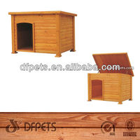 Luxury Wooden Pet House Dog Kennel Hot Sell DFD025