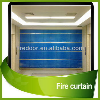 BS476 fire curtain
