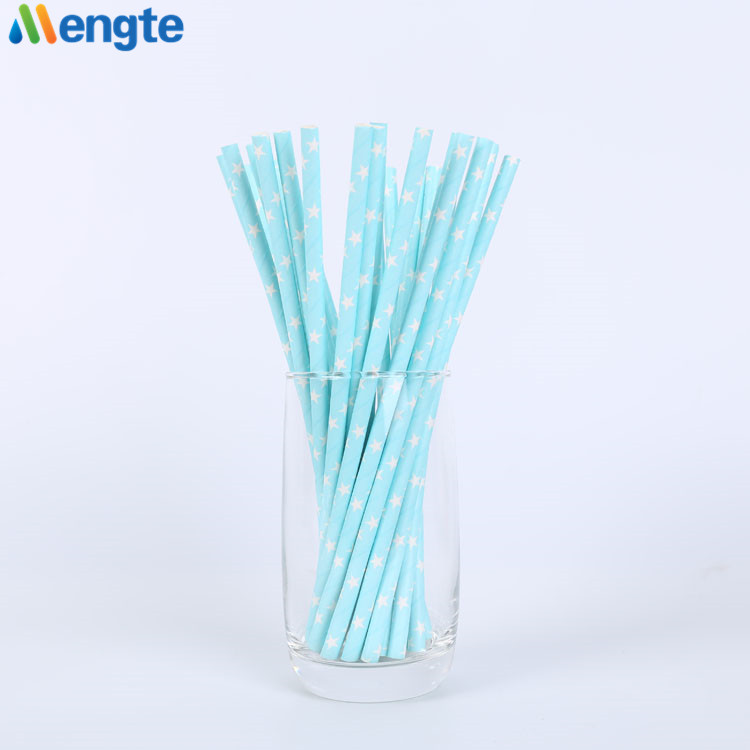 Eco FDA Certified wholesale biodegradable paper drinking paper straw
