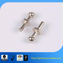 nickel plated spring strut joint mount angle ball head pins