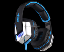 KOTION EACH G8200 Game Headphone 7.1 Surround USB Vibration Gaming Headset Headband Earphone with Microphone LED Light