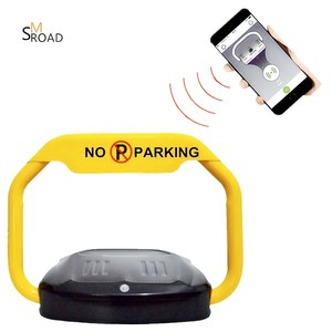EASY USE lock BARRIER traffic REMOTE BLUETOOTH smart parking lock system