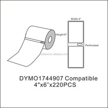 DYMO 4XL Direct Thermal Shipping Labels 4x6 1744907 compatible