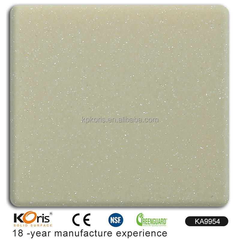 KA9954 Faux solid surface sheet used counter tops manufacturers from china