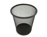 Trash Can, Office Organizer Paper Storage Wastebasket, Garbage Bin Dustbin F0135