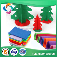 Polyester felt fabric for diy felt child craft/ felt sheet professional for kindergarten