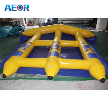 2016 summer hot sale inflatable flying manta ray / inflatable water game for sea