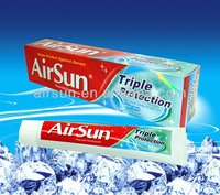 Airsun tripe action toothpaste home care products