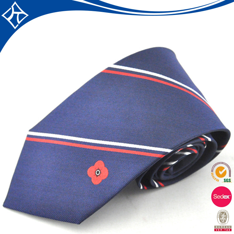 wholesale custom print silk neck tie man for gift