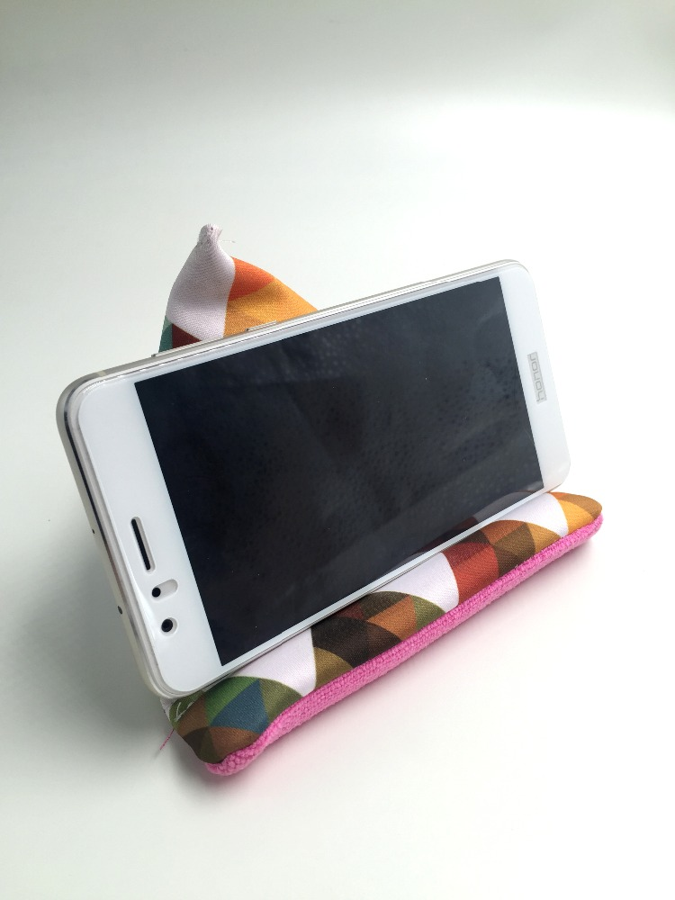 Multi-Function Phone Stand Holder For Screen Cleaning