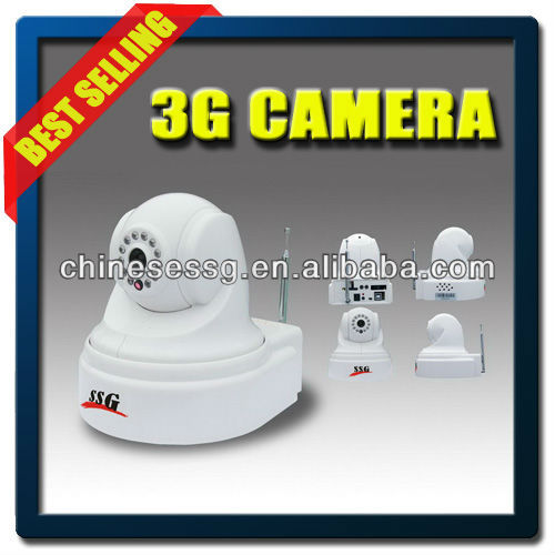 3G safe house burglar alarm system with Voice prompt and guide operation