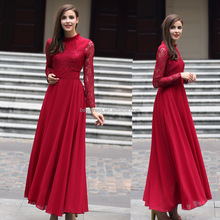 New arrival women abaya islamic maxi dress islamic maxi dress modest muslim dress latest