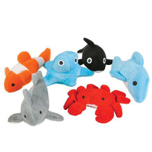 Assorted small ocean toy fish stuffed animal plush sea animals toys