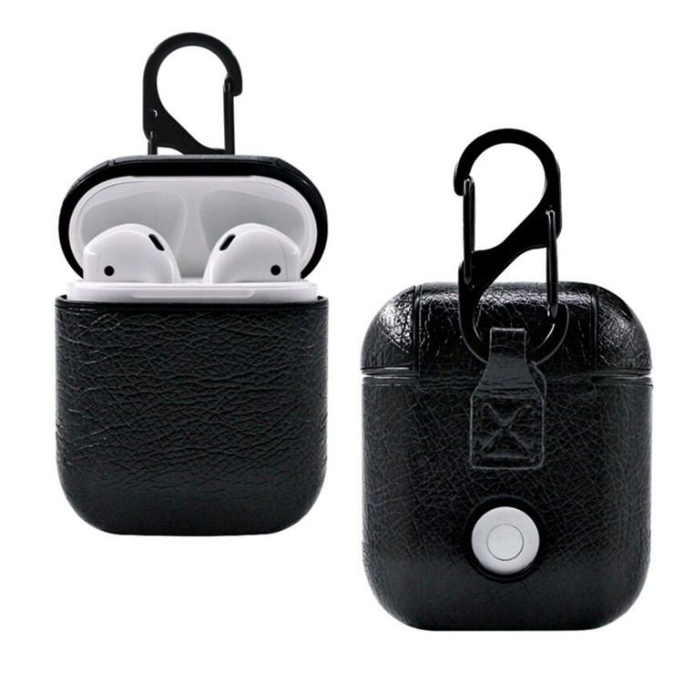 wholesale pc leather for airpods case full <strong>protective</strong> for iphone 7/8/X/XS/XR