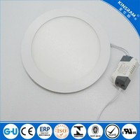 Best buy round 12W panel light led 150mm cut out SMD chip