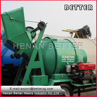 Henan Better diesel engine concrete mixer dubai