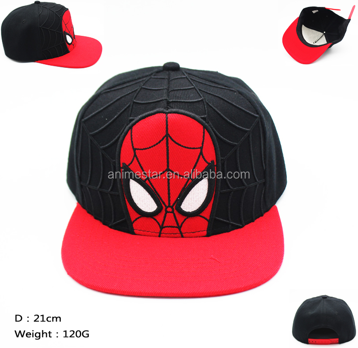 Large Wholesale Spider Man Anime Hat
