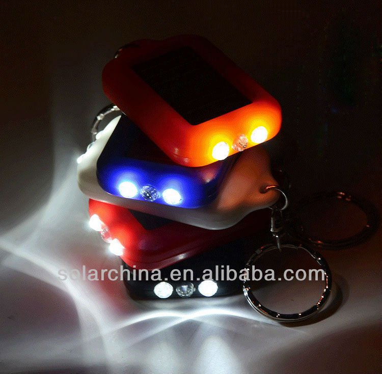 Hot Sales Led solar torch with carabiner